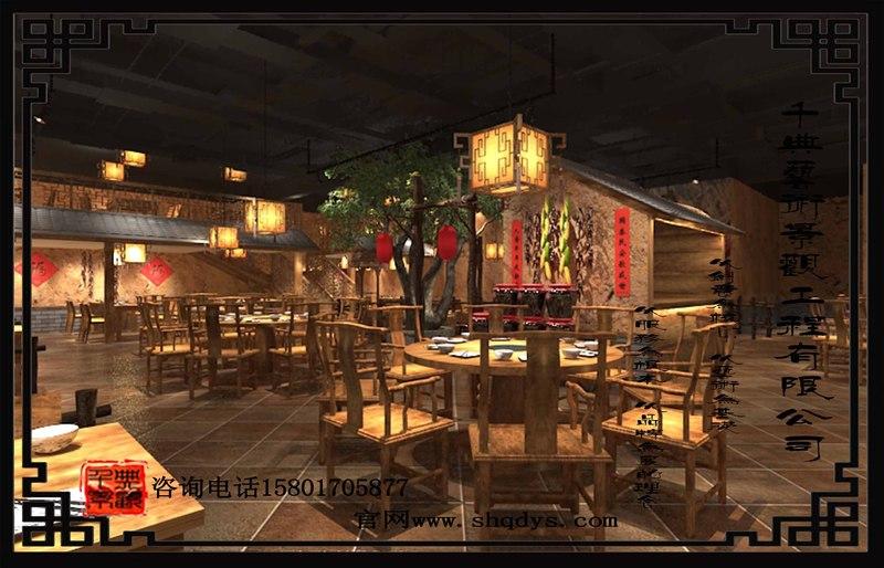 生态园餐厅设计施工